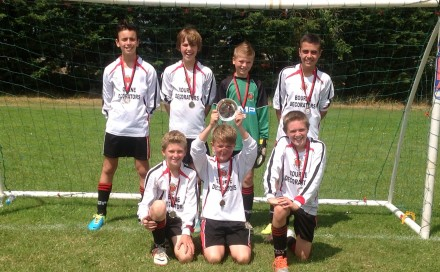 Droitwich Tigers Win Badsey Tournament Plate