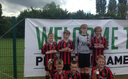 Droitwich Spa U11 Hornets runners up