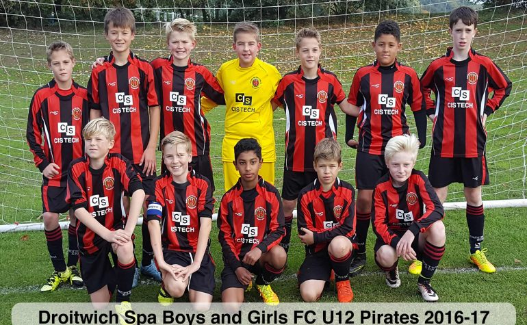 U12 Pirates reached the quarter finals of the MJPL Cup