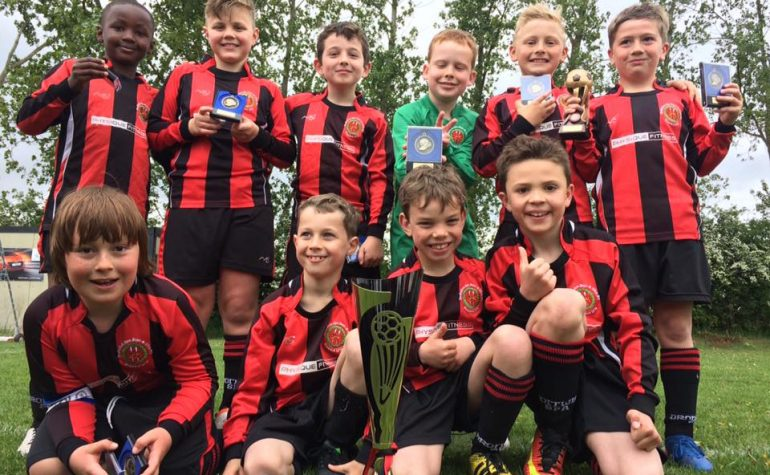 U9 Colts win the Stourport and District Youth Football League Vase Final