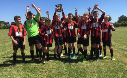 Penalty shootout win for Droitwich Dragons U13